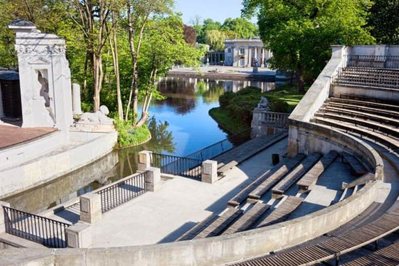 Anfiteatro del Parque Lazienki - Tour Parque Lazienki en español