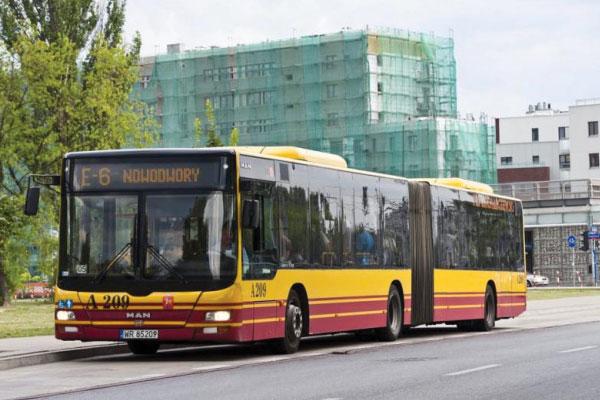 Autobus Varsovia Cercanias