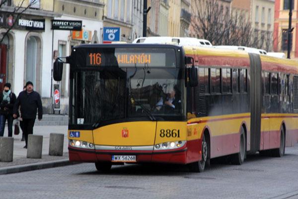 Autobuses en Varsovia