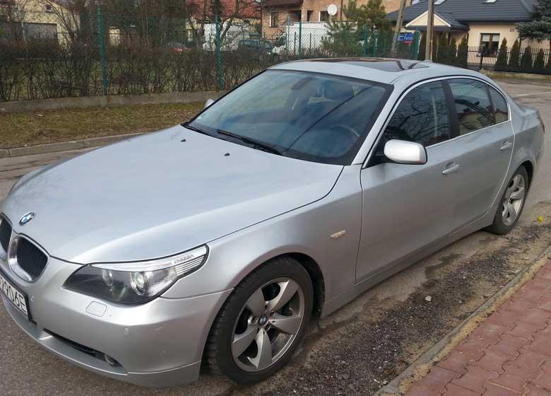 BMW 528iA - Alquiler de coches en Polonia