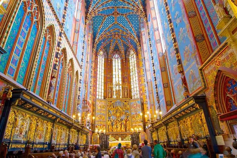 Basilica de Santa Maria Tour Cracovia - Tour Ciudad Vieja de Cracovia en español con guía privado
