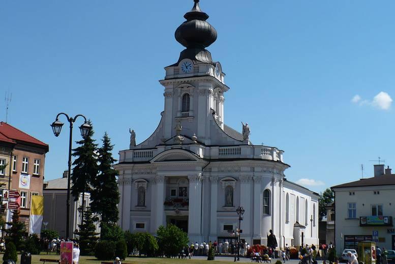 Basilica de la Presentacion de la Santisima Virgen en Katowice - Tour Tras las huellas de Juan Pablo II en español con guía privado