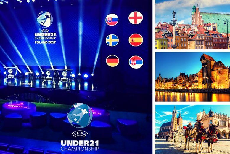 Campeonato de Europa SUB 21 Polonia 2017