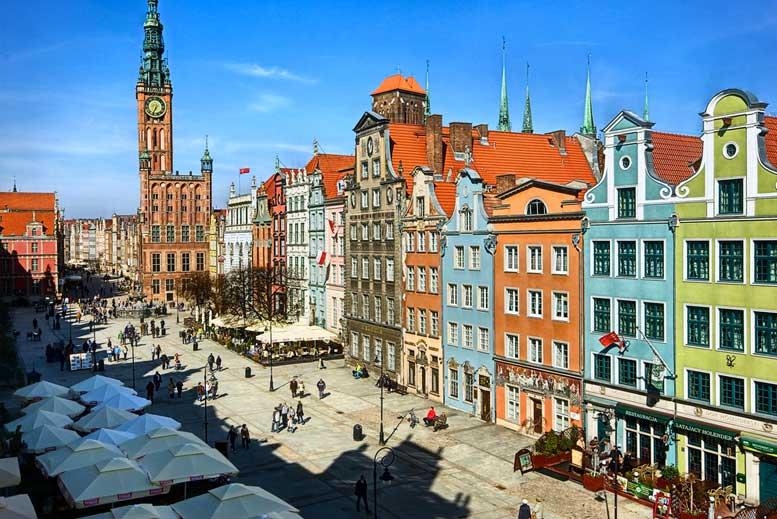 Casco Antiguo de Gdansk - Tour Gdansk Clásico en español con guía privado