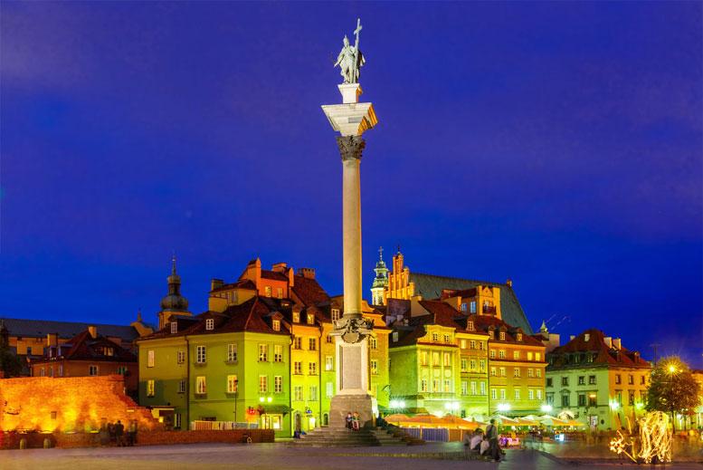 Columna de Segismundo Varsovia - Tour Varsovia Clásica en español con guía privado