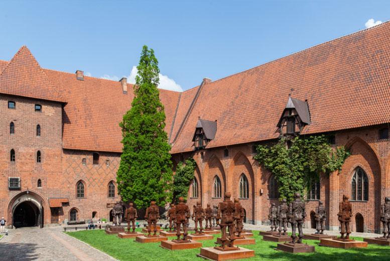 Ejercito Teutones Castillo de Malbork - Tour Malbork con guía privado en español