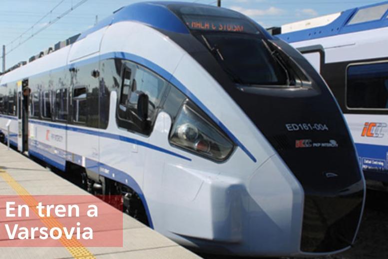 En tren a Varsovia - Como llegar a Varsovia