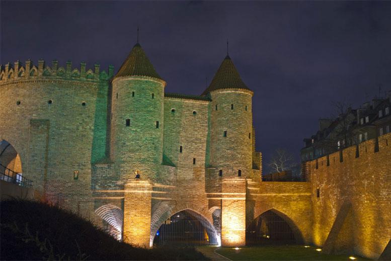 Fortificaciones del casco antiguo de Varsovia - Tour Varsovia Clásica en español con guía privado