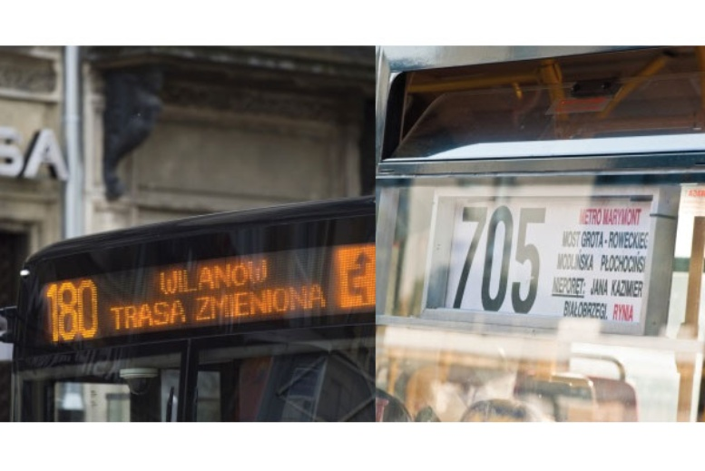 Información Transporte Publico en Varsovia