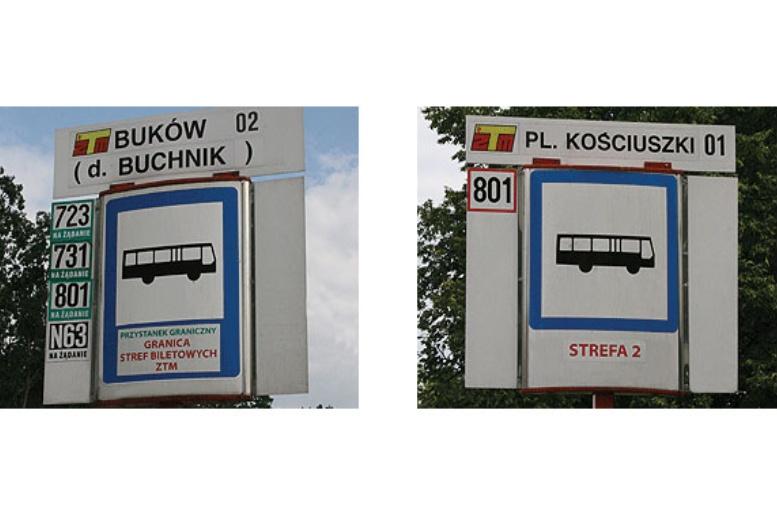 Limite de zonas en Varsovia