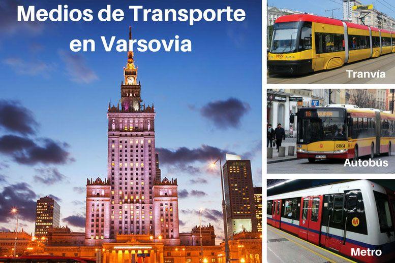 Medios de Transporte en Varsovia