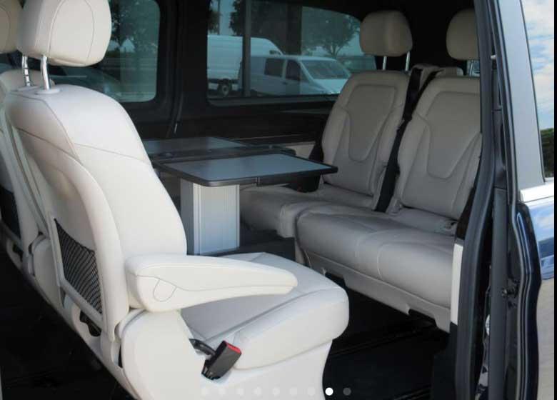 Mercedes Vito Azul - Alquiler de coches en Polonia