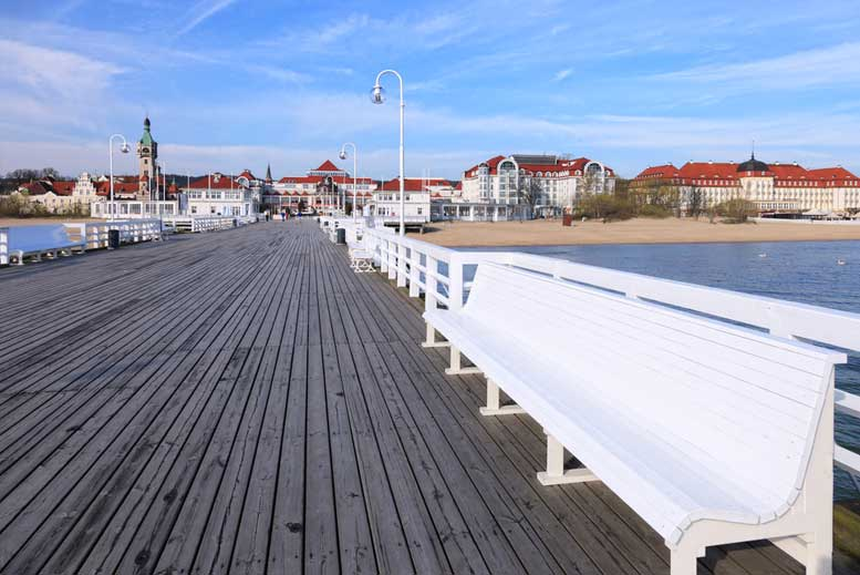Muelle de Gdansk - Tour Gdansk con guía privado en español