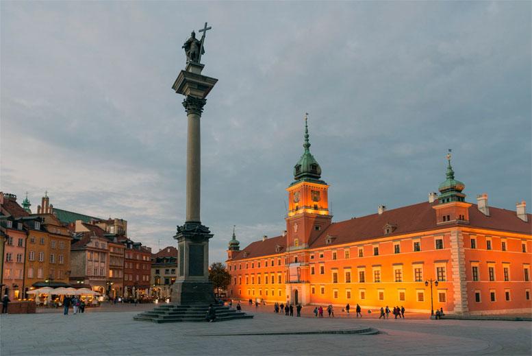 Palacio Real en Varsovia - Tour Varsovia Clásica en español con guía privado