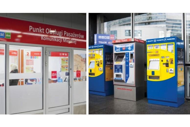 Puntos de Venta de Billetes de Transporte en Varsovia