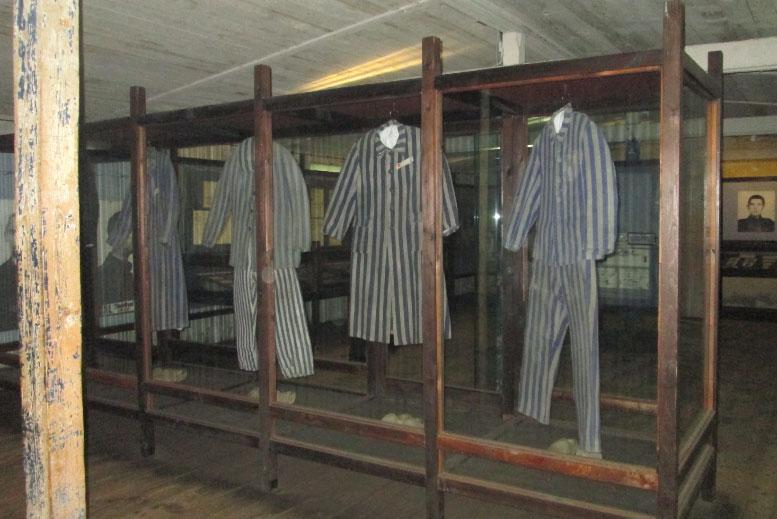 Ropa de Prisioneros del Campo de Concentración Stutthof - Tour Campo de Concentración de Stutthof en español con guía privado