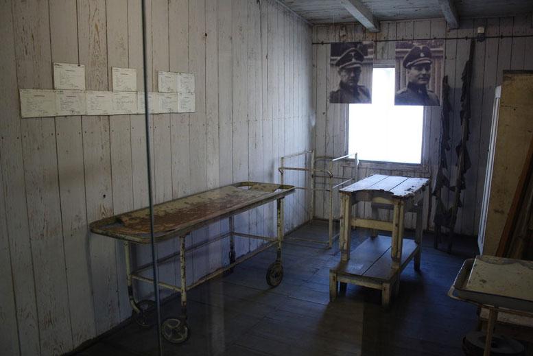 Sala operaciones del Campo Concentración Stutthof - Tour Campo de Concentración de Stutthof en español con guía privado