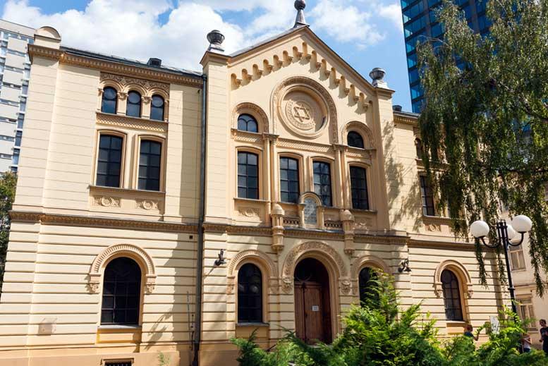Sinagoga Nozyk - Tour Varsovia Judía en español con guía privado
