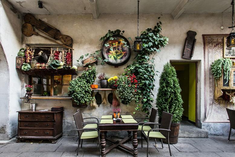 Patio interior en barrio judío Kazimierz - Tour Barrio judío Kazimierz con guía privado en español