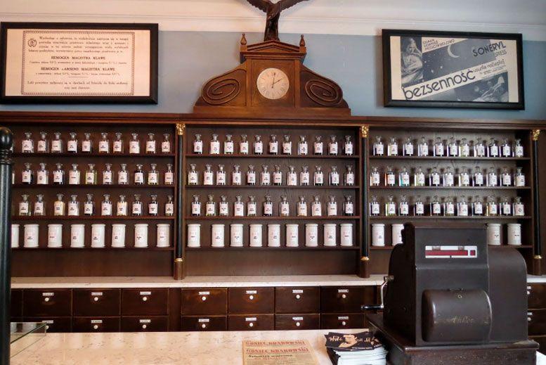Farmacia bajo El Aguila - Tour Barrio judío Kazimierz con guía privado en español