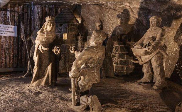 Tour Mina de Sal de Wieliczka con guia privado en español