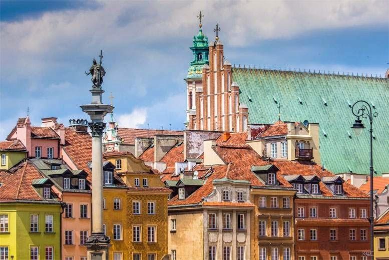 Casco Antiguo de Varsovia - Tour Varsovia Clásica en español con guía privado