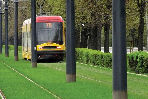 Tranvía Varsovia Linea Especial o Sustituta