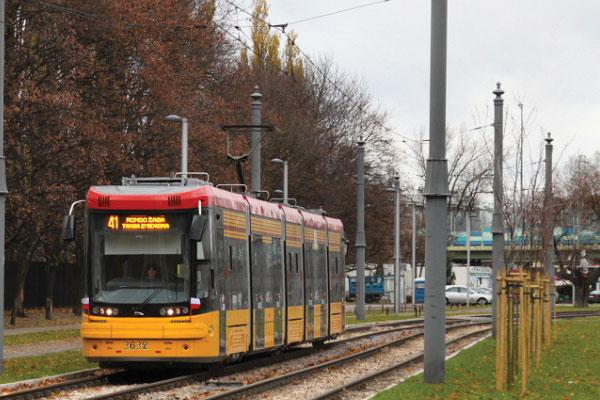 Tranvía Varsovia hora especial y fin de semana