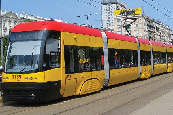 Tranvias en Varsovia
