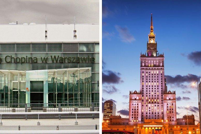 Traslados de Aeropuerto Varsovia Okecie – Federico Chopin hasta Varsovia centro y viceversa