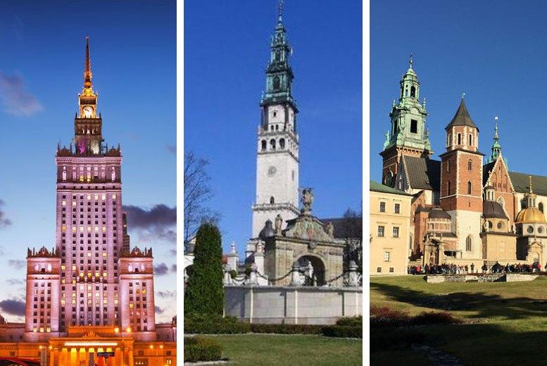 Traslados en privado Varsovia - Częstochowa - Cracovia sin asistencia
