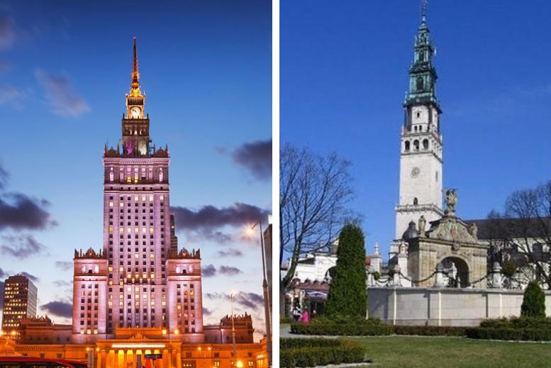 Traslados en privado Varsovia - Czestochowa - Varsovia sin asistencia