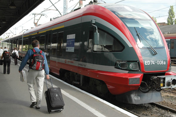 Tren SKM de Varsovia