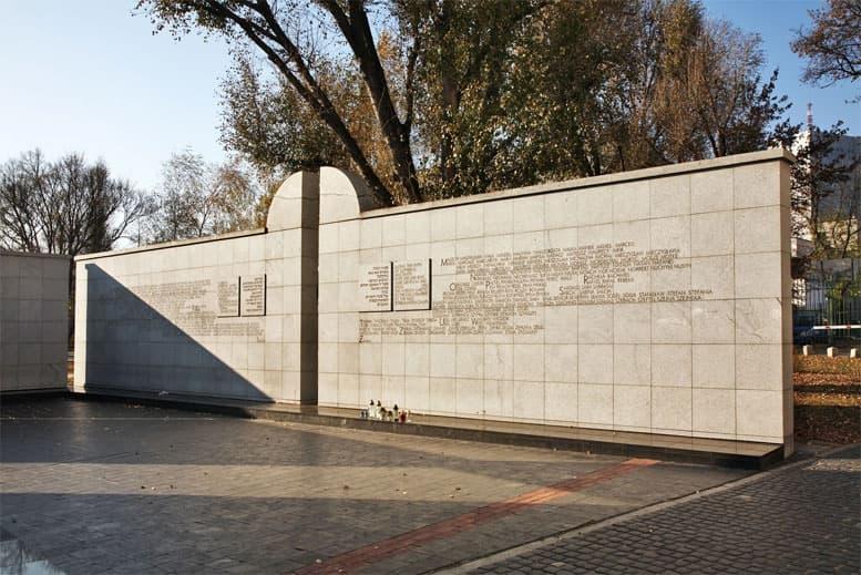 Umschlagplatz en Varsovia - Tour Varsovia Judía en español con guía privado