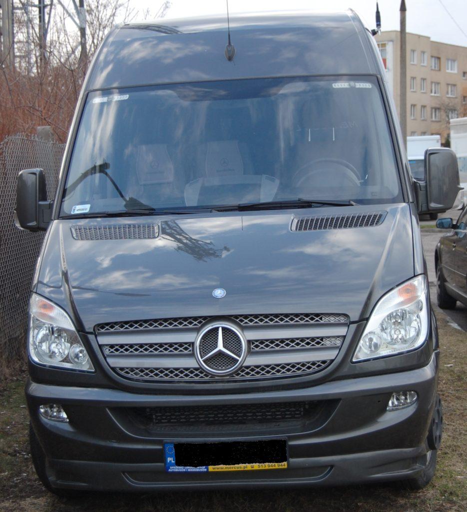Mercedes Sprinter - Alquiler de coches en Polonia