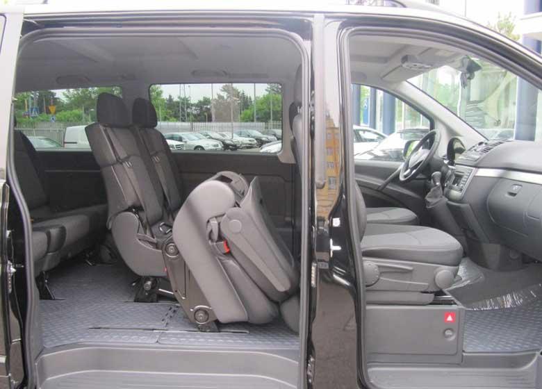 Mercedes Viano - Alquiler de coches en Polonia