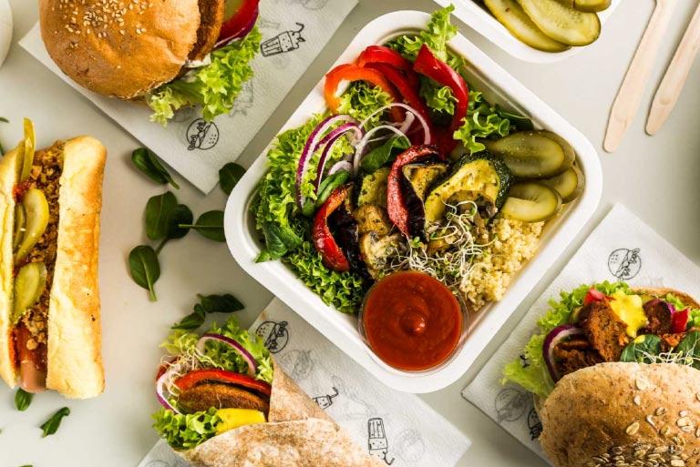 Hamburguesa Vegana Krowarzywa