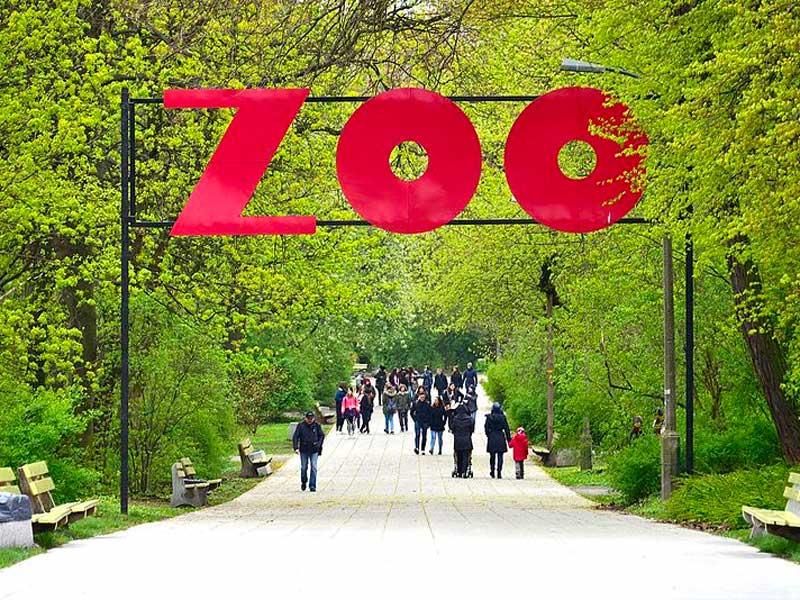 Zoologico de Varsovia en el distrito de Praga